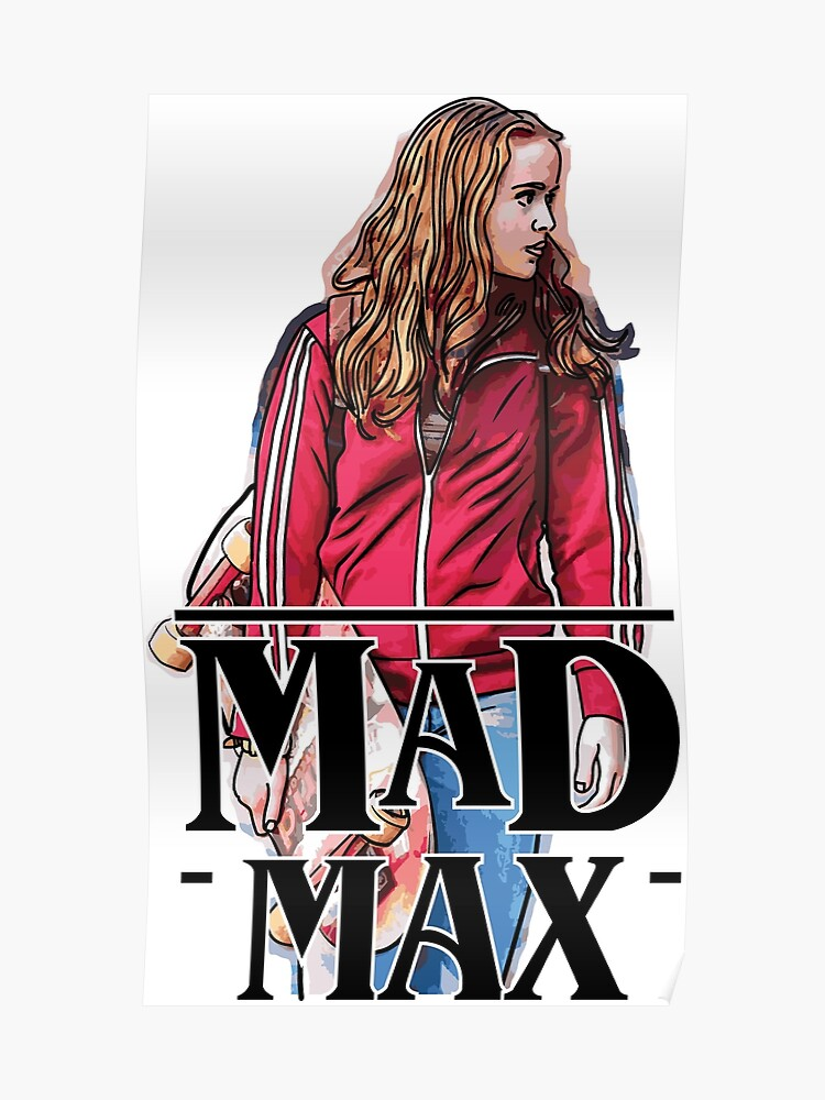 Mad Max Stranger Things | Poster
