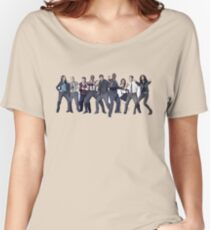Brooklyn 99 Cast Women's Relaxed Fit T-Shirt