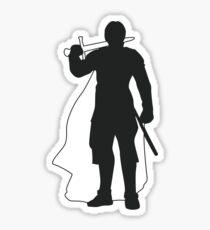 Jaime Lannister Kingslayer - Game of Thrones Silhouette Sticker
