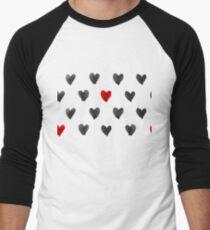 Watercolor Hearts Seamless Pattern T-Shirt