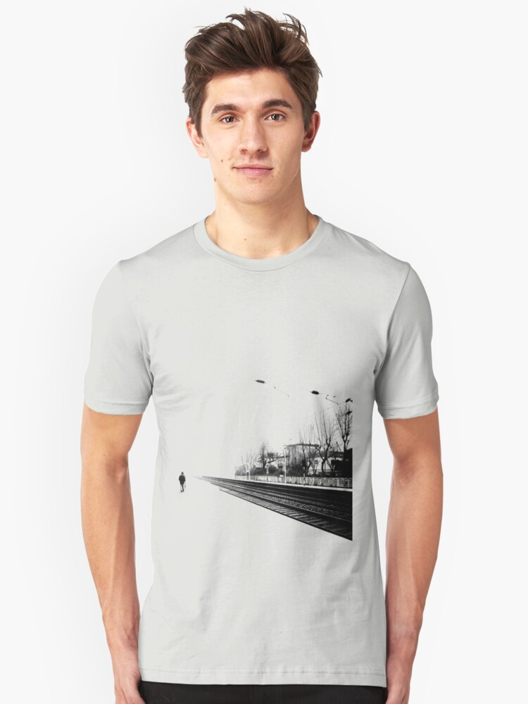 Life is one big road... Unisex T-Shirt Front