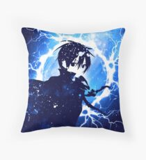 SAO mix color and thunder Throw Pillow
