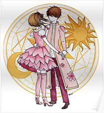 Sakura and Syaoran's dancing Poster