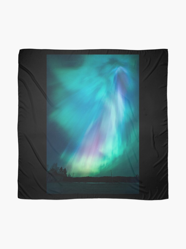 Alternate view of Beautiful northern lights Scarf