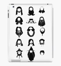 The Bearded Company Black and White iPad Case/Skin