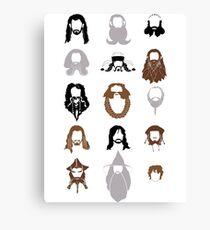 The Bearded Company Canvas Print