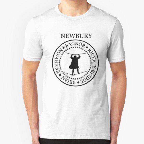 Newbury - Bagnor (black 601) Slim Fit T-Shirt