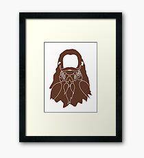 Gloin's Beard Framed Print