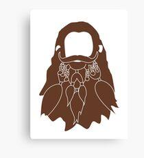 Gloin's Beard Canvas Print