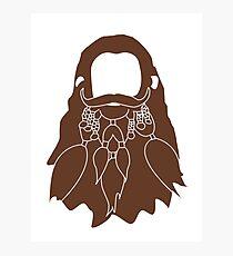 Gloin's Beard Photographic Print