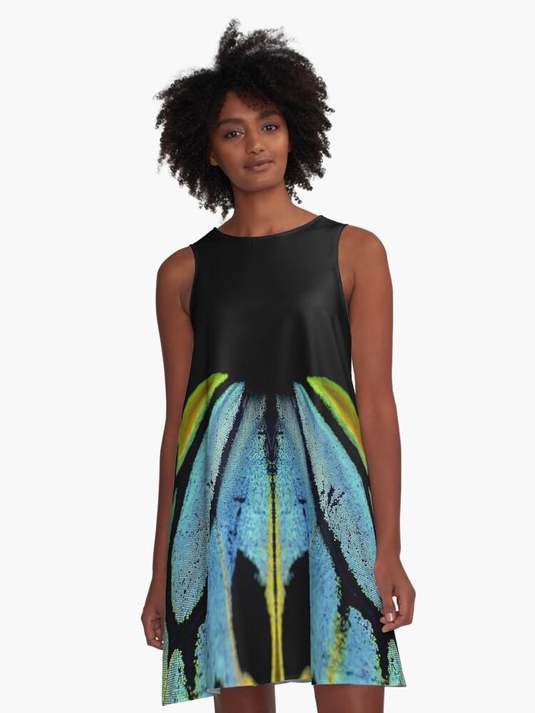 Cairns Birdwing Detail II A-Line Dress Front