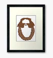 Bombur's Beard Framed Print
