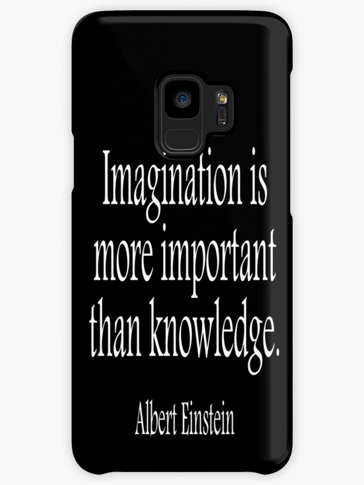 the imagination is more important than knowledge