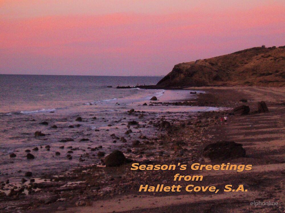 Season's greetings from Hallett Cove, S.A. by elphonline