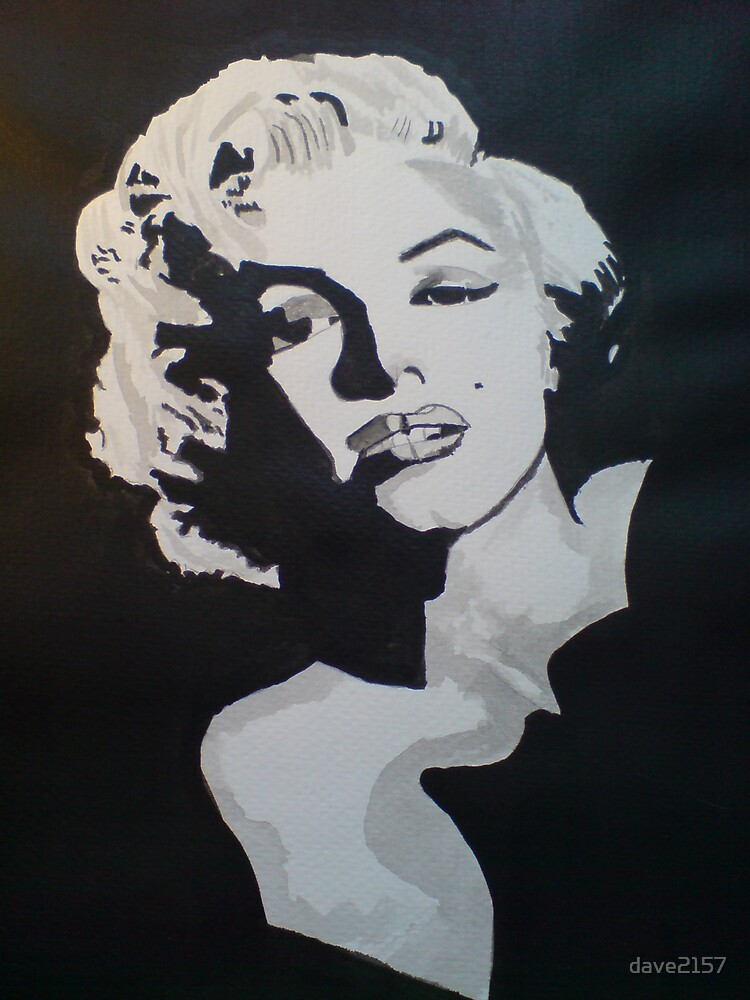 Marilyn Monroe by dave2157