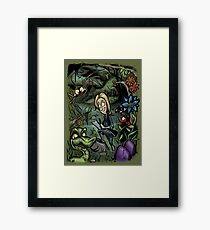 Seren the Explorer Framed Print