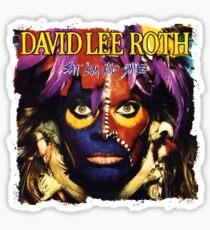 David Vai Lee Sticker
