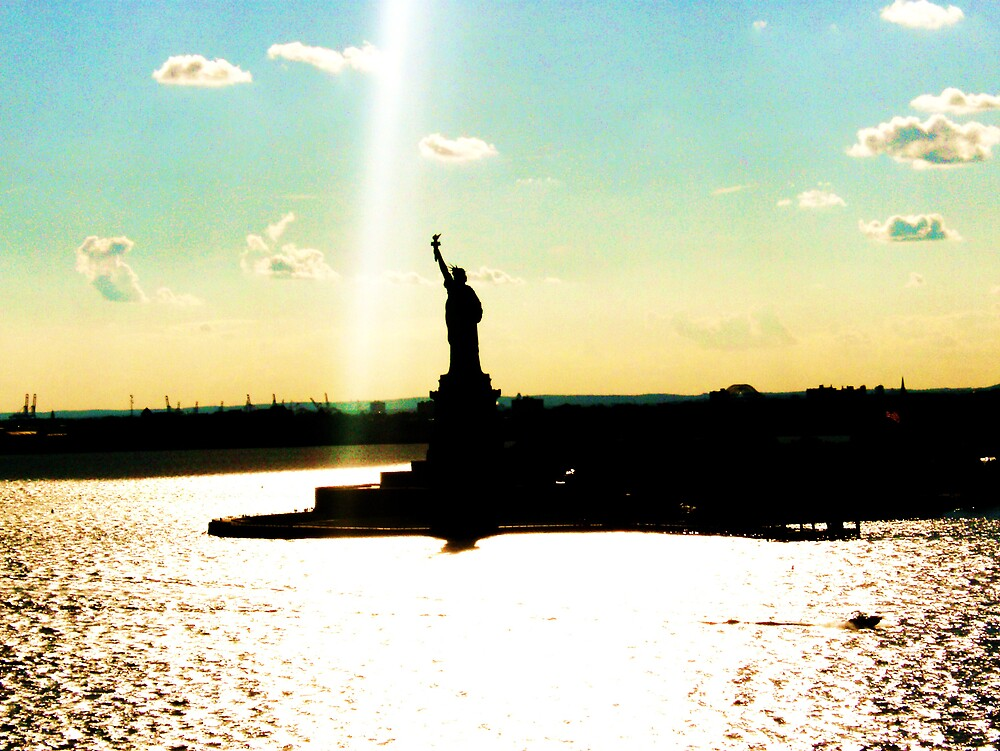 statue of liberty by tyler mcquaid
