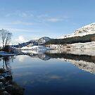 Loch Lubhair, the Highlands , Scotland by David Rankin