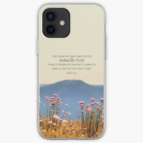 Jeremiah 29:11 iPhone Soft Case