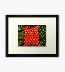 Healthy Living Framed Print