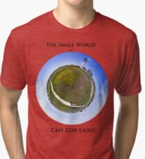 The Small World of Cape Cod Light Tri-blend T-Shirt