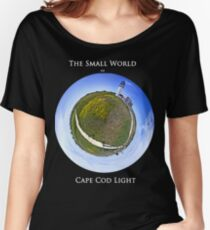 The Small World of Cape Cod Light Women's Relaxed Fit T-Shirt