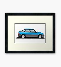 Rover 200 Series - Henley Framed Print