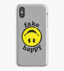 Paramore Fake Happy - BLK iPhone Case/Skin