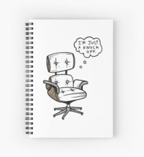 EAMES Knock-Off Spiral Notebook