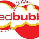 Red Bubble Logo by Kat Massard