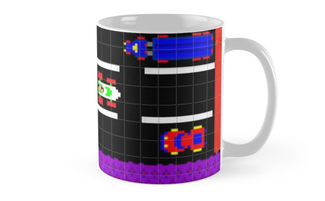 Frogger Road Screen Mug