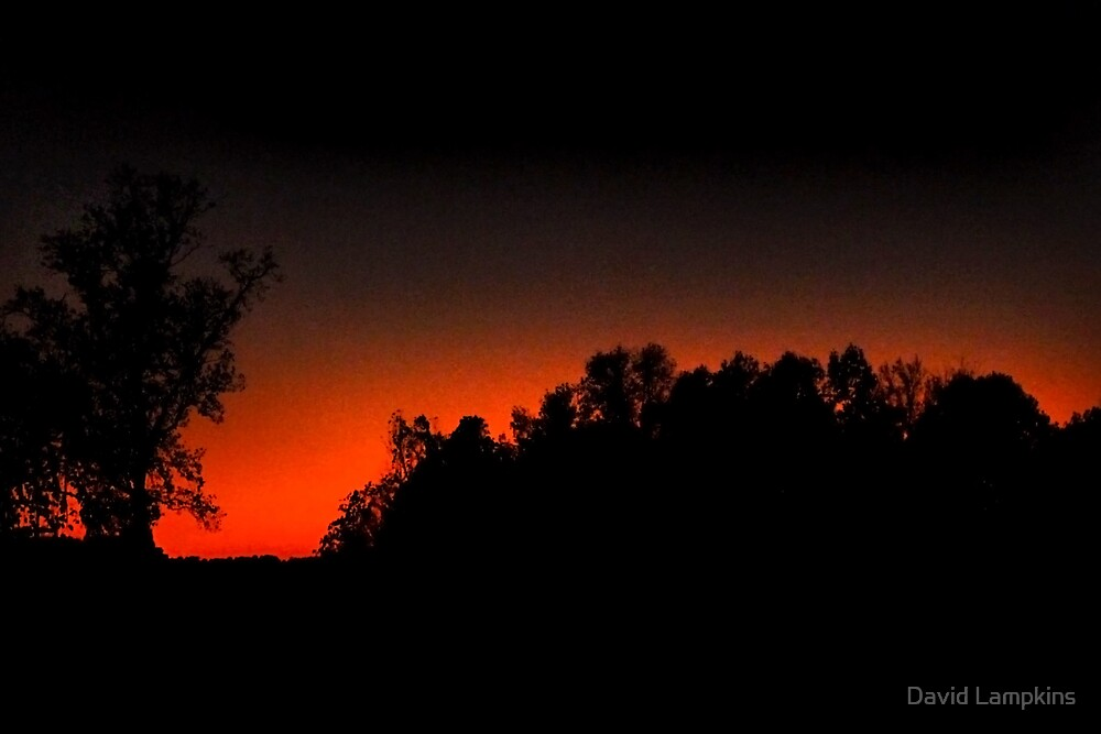 Sundown by David Lampkins