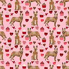 Australian Cattle Dog red heeler valentines day cupcakes hearts love dog breed gifts by PetFriendly