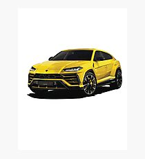 Sports SUV Photographic Print