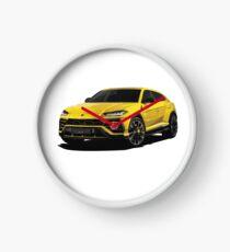 Sports SUV Clock