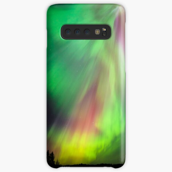 Big beautiful multicolored northern lights Samsung Galaxy Snap Case