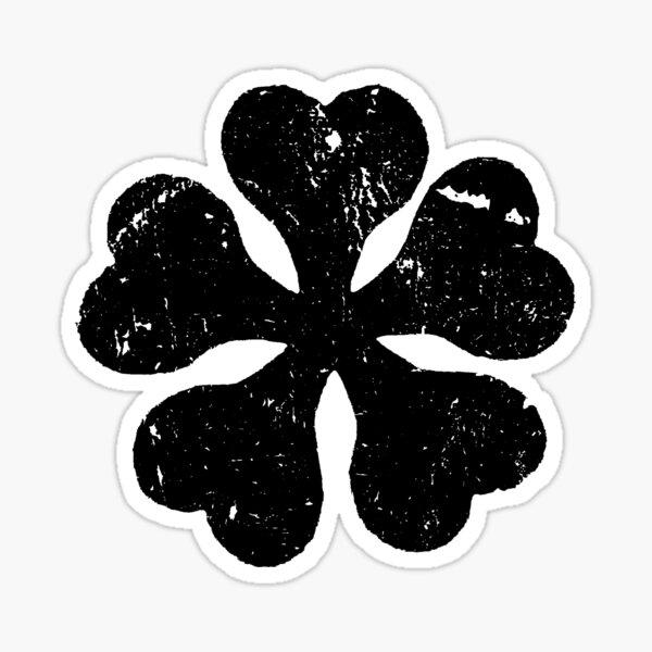Black Clover Anime Logo T Shirt for Anime Lovers Sticker