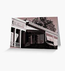 Fanny Ann's Saloon Greeting Card