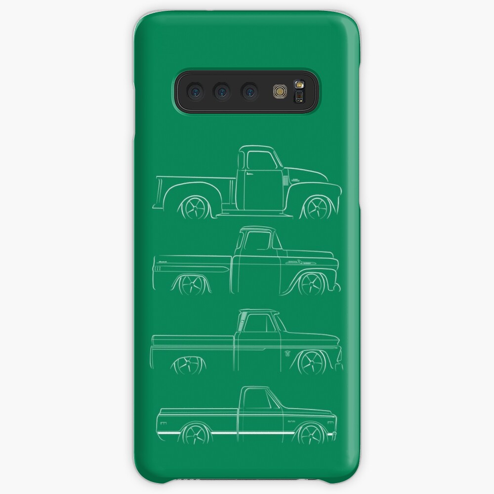Evolution of the Chevy Pickup  Case & Skin for Samsung Galaxy