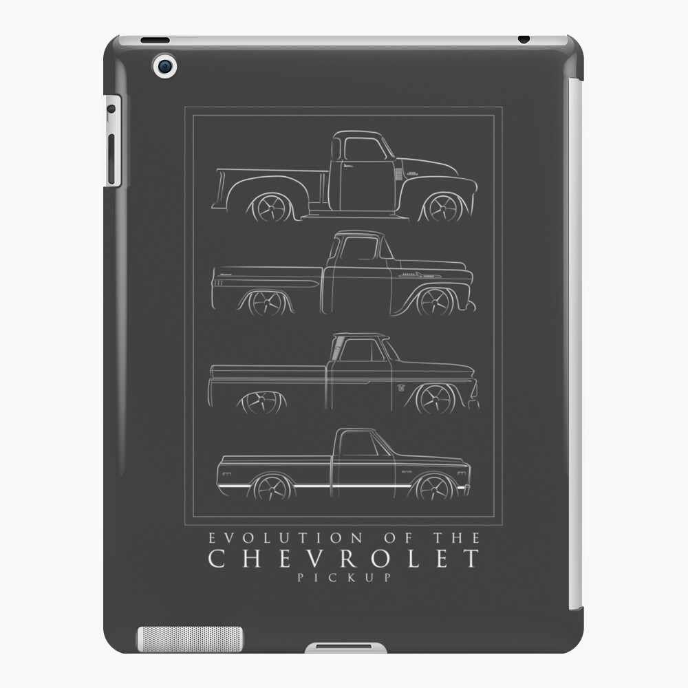 Evolution of the Chevy Pickup  iPad Case & Skin