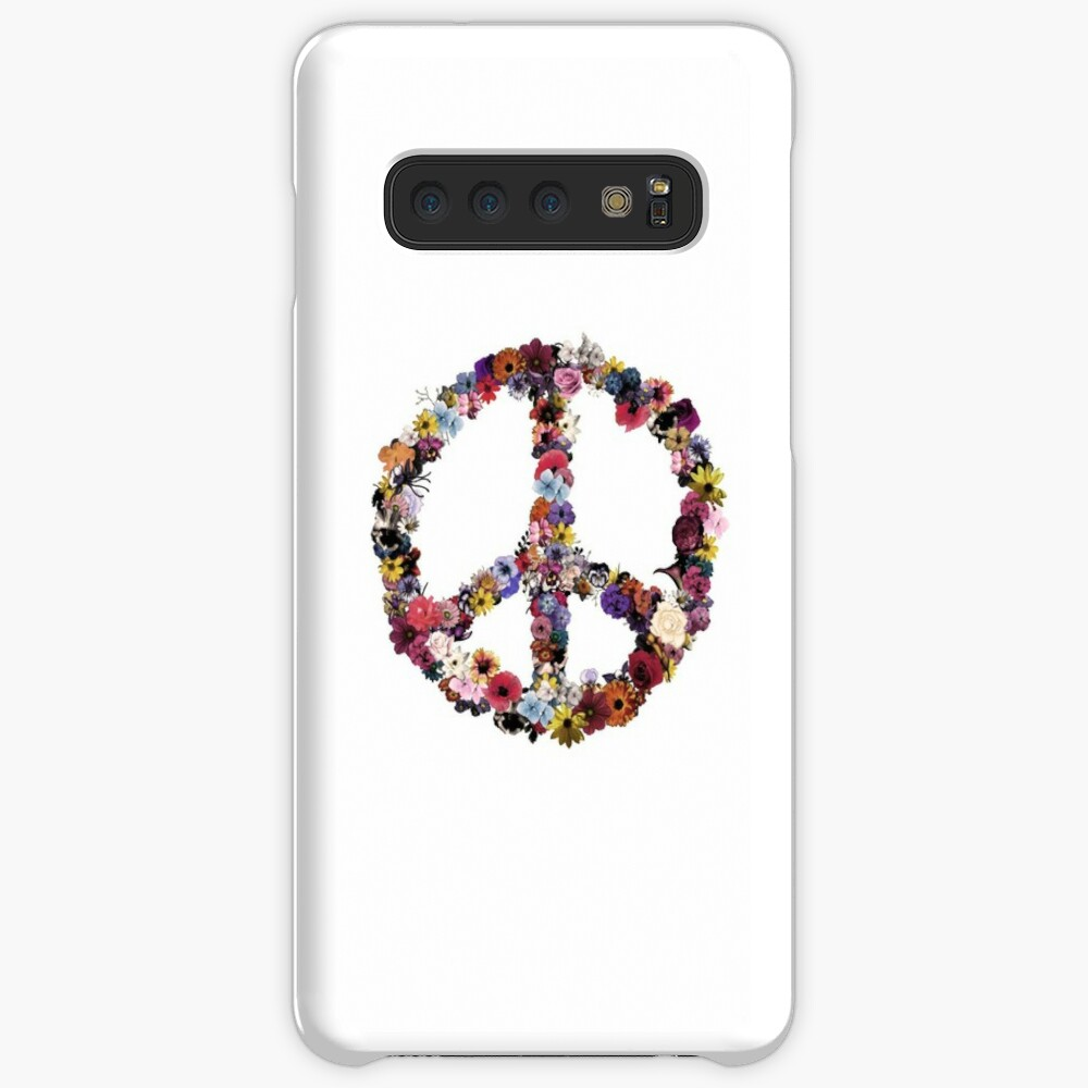 Peace Lover Plain Paint Version Case & Skin for Samsung Galaxy