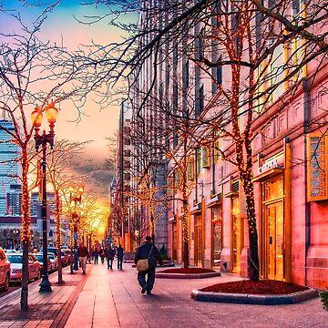 Boston at Christmas  by LudaNayvelt