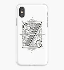 Monogram Z iPhone Case/Skin