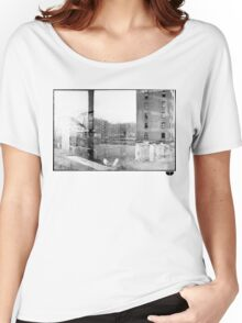 photo fade building Women's Relaxed Fit T-Shirt