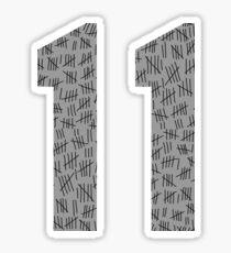 Eleven #6 Sticker