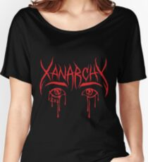 Lil Xan Anarchy red Women's Relaxed Fit T-Shirt