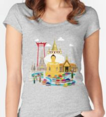 Bangkok Women's Fitted Scoop T-Shirt