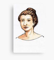 Sketching Forward Canvas Print