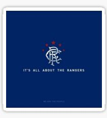 Its all about the Rangers Sticker